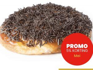 CRU chocolade suisse promo 5% korting